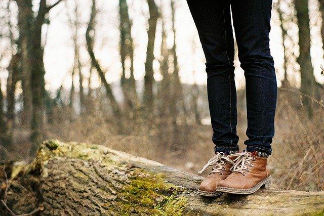spacer po lesie